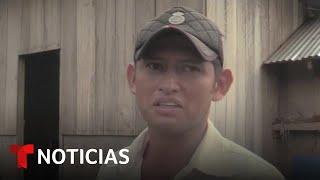 Conmovido, el padre del niño hallado solo en la frontera observa el video de la Patrulla Fronteriza