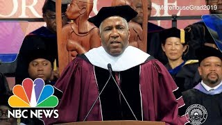 Billionaire Eliminates Student Debt For Morehouse College Grads Of 2019 | NBC News