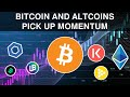 Bitcoin & Altcoins Pick Up Momentum | Key Ratios Signal Opportunities Across The Market