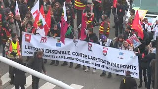 Pulso en Francia por la reforma de las pensiones