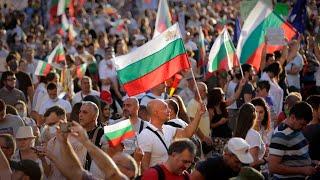 Bulgarian protesters block crossroads