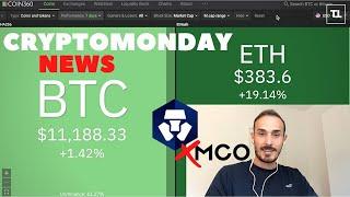 ETHEREUM Ethereum in Hype. Crypto.com RIMUOVE gli MCO - CryptoMonday NEWS w31/'20