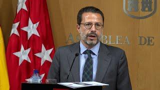 Gobierno madrileño registra los Presupuestos y pide apoyo de Vox