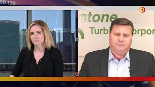 CAPSTONE TURBINE Capstone Turbine CEO talks through 1Q earnings and reacts to London's power outage