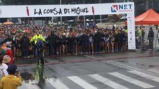 Corsa di Miguel: esordio ufficiale per l'Athletica Vaticana