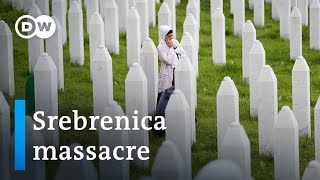 Bosnians mark 25th anniversary of Srebrenica massacre | DW News