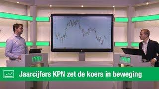 KPN KON Jaarcijfers aandeel KPN zet de koers in beweging   LYNX