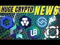 TOP CTYPTO NEWS! Quant Network, Unibright, Crypto.com, Chainlink, ShareRing, Elrond