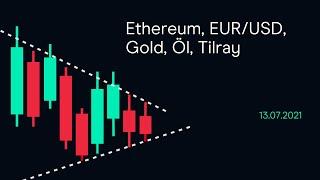 ETHEREUM Ethereum, EUR/USD, Gold, Öl ( CMC BBQ 13.07.2021)