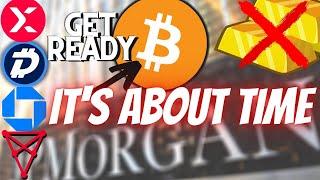 DIGIBYTE JP Morgan Bets BIG on Blockchain With ONYX! Gold Selloff plus Digibyte, StormX, Chiliz News