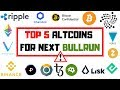 TOP 5 ALTCOINS | Der nächste Bullrun kann kommen!