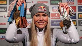 ALPINE GROUP INC Lindsey Vonn takes bronze in her final alpine ski race