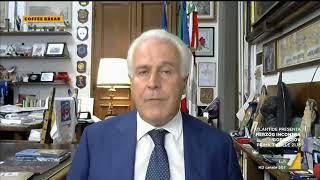 """CSX CORP. Elezioni Toscana, il candidato di csx Eugenio Giani: """"Chi è scettico con l'Europa sottovaluta ..."""