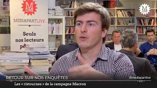 GL EVENTS La régularité de la campagne d'Emmanuel Macron : d'importantes ristournes accordées par GL Events