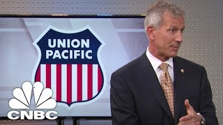 UNION PACIFIC CORP. Union Pacific CEO: Worried About NAFTA | Mad Money | CNBC