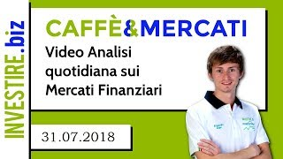 EUR/CAD Caffè&Mercati - Siamo Short su EUR/CAD