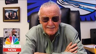 Inside Stan Lee's Final Project | NBC News Now