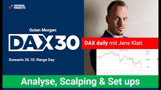 AMP LIMITED DAX aktuell: Analyse, Trading-Ideen & Scalping   DAX30   CFD Trading   DAX Analyse   26.10.2020
