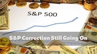S&P500 INDEX S&P 500 ainda em correção