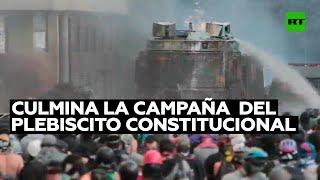 Culmina la campaña de propaganda legal antes del plebiscito constitucional en Chile