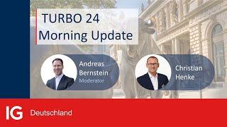 EUR/USD IG Turbo24 mit Market Update zur EZB-Sitzung und dem Blick auf DAX, Nasdaq und EURUSD