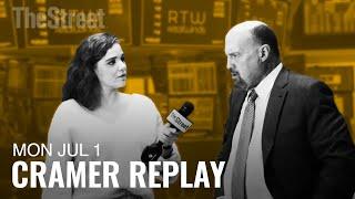 NVIDIA CORP. Jim Cramer Tackles Trump's Meeting With Xi, Nvidia and Boeing