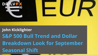 EUR/AUD Both Dollar and S&P 500 Edge Higher after Factory Report, EURAUD A Pair to Watch