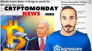BITCOIN Bitcoin frena.. siamo in Altseason ? - CryptoMonday NEWS w03/'21