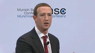 "FACEBOOK INC. Mark Zuckerberg demande ""une réglementation intermédiaire des contenus en ligne"