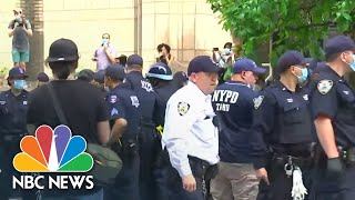 Protests Break Out In New York City After George Floyd's Death | NBC News NOW