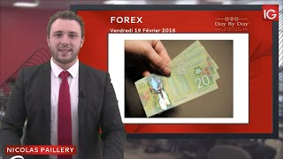 GBP/CAD Bourse - GBP/CAD : l'éventualité d'un Brexit pénalise la livre sterling - IG 19.02 2016