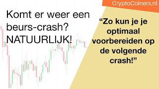 BITCOIN Bij de volgende aandelen-crash... Hoe bescherm je je Bitcoin?