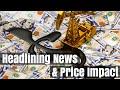 GOLD - USD - Mouvements des prix de l'or