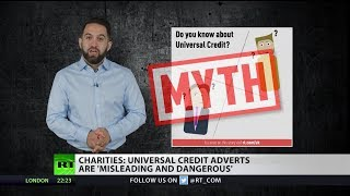 Charities: Universal Credit adverts are 'misleading and dangerous'