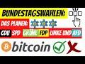 Was Planen die PARTEIEN für Bitcoin & Krypto? | China VERBOT | Cardano ADA BIG NEWS | SONGBIRD SGB