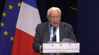 G7 Bretton Woods: 75 years later -  Welcome address by Jacques de Larosière