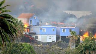 Vulkan auf La Palma: Zweiter Lavastrom auf dem Weg ins Meer