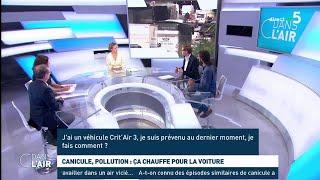 Canicule, pollution : ça chauffe pour la voiture - Les questions SMS #cdanslair 26.06.2019