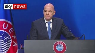 FIFA President: 'You cannot be half in or half out'