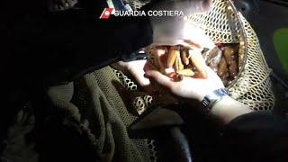 Castellamare di Stabia, arrestati 18 bracconieri del mare per disastro ambientale