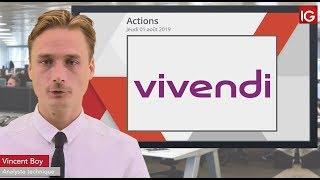 VIVENDI Bourse - VIVENDI, un intermédiaire en soutien - IG 01.08.2019