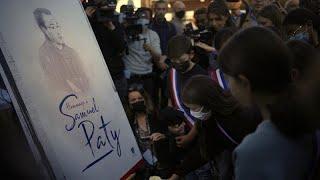 Samuel Paty, símbolo de la libertad de expresión en Francia