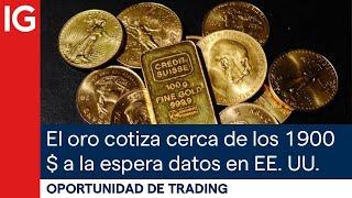GOLD - USD El ORO cotiza cerca de los 1900 $ a la espera de datos INFLACIÓN en EE. UU. | Oportunidad de trading