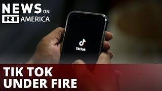 TikTok under fire for endangering kids online