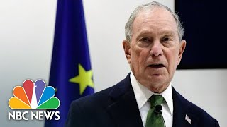 'I'm Here Because President Trump Is Not': Bloomberg Hits Out At U.N. Climate Conference | NBC News