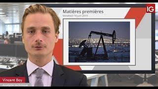 BRENT CRUDE OIL Bourse - BRENT, rebond durable ou technique?- IG 14.06.2019