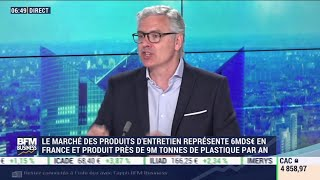Philippe Cantet (Spring) : Lancement de Spring, une marque de lessive conditionnée dans une boîte