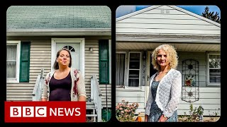 After years searching, I found my sister next door - BBC News