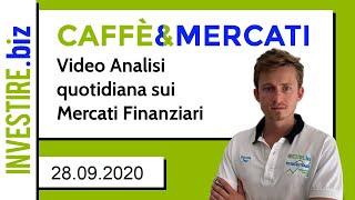 AUD/USD Caffè&Mercati - Livelli chiave di EUR/USD e AUD/USD