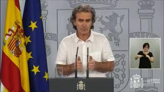 En Directo: Fernando Simón valora los datos sanitarios del día / 29 de Mayo de 2020
